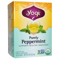 Yogi Tea Organic Teas Purely Peppermint Tea