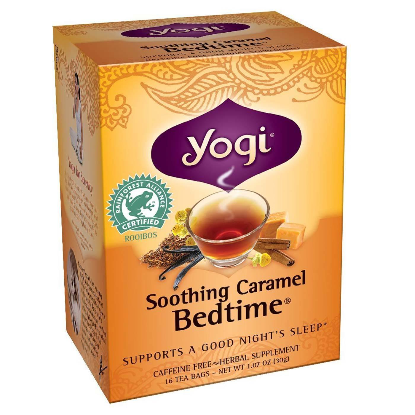 Yogi Tea Organic Teas Blend Caffeine Free Soothing
