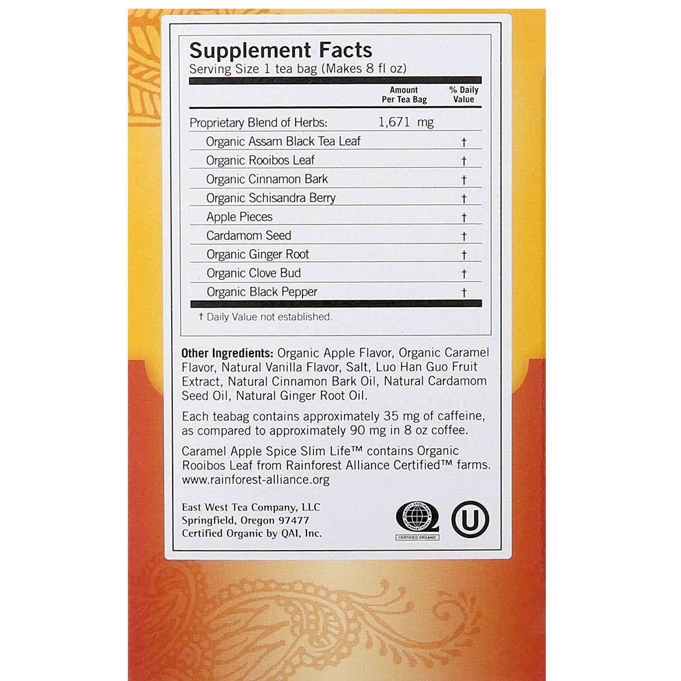 Yogi Tea Organic Teas Blend - Slim Life