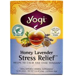 Yogi Tea Organic Teas Honey Lavender Stress Relief Tea