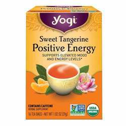 Yogi Tea Organic Teas Sweet Tangerine Perfect Energy