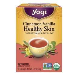Yogi Tea Organic Teas Cinamon Vanilla Healthy Skin Tea