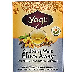 Yogi Tea Organic Teas St. John's Wort Blues Away Tea