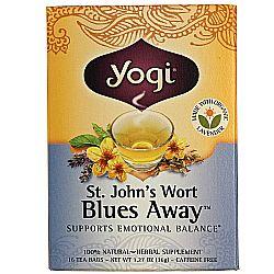 Yogi Tea Organic Teas St. John's Wort Blues Away Tea