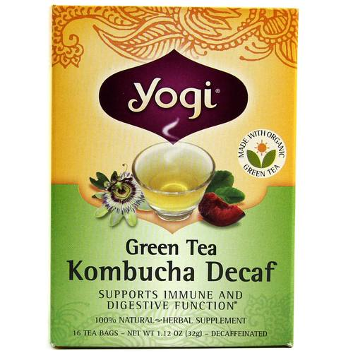 Green Tea Decaf Kombucha