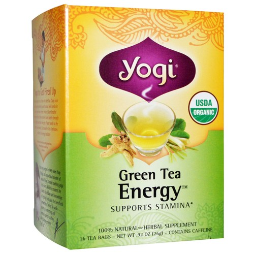 Yogi Tea Organic Teas Green Tea  - Energy - 16 Bags - 7975_01.jpg