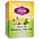 Yogi Tea Organic Teas Green Tea - Blueberry  - Slim Life - 16 Bags