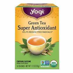 Yogi Tea Organic Teas Green Tea Super Antioxidant