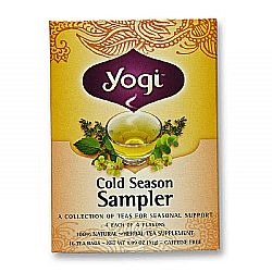 Yogi Tea Organic Teas Cold Season Tea Sampler