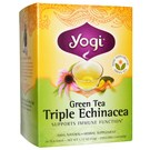 Yogi Tea Organic Teas Green Tea Triple Echinacea