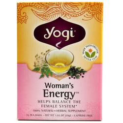 Yogi Tea Organic Teas Woman's Energy Tea