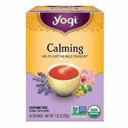Yogi Tea Organic Teas Calming Chamomile Tea with Lemongrass and Gotu Kola
