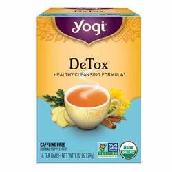 Yogi Tea Organic Teas DeTox Caffeine Free Tea