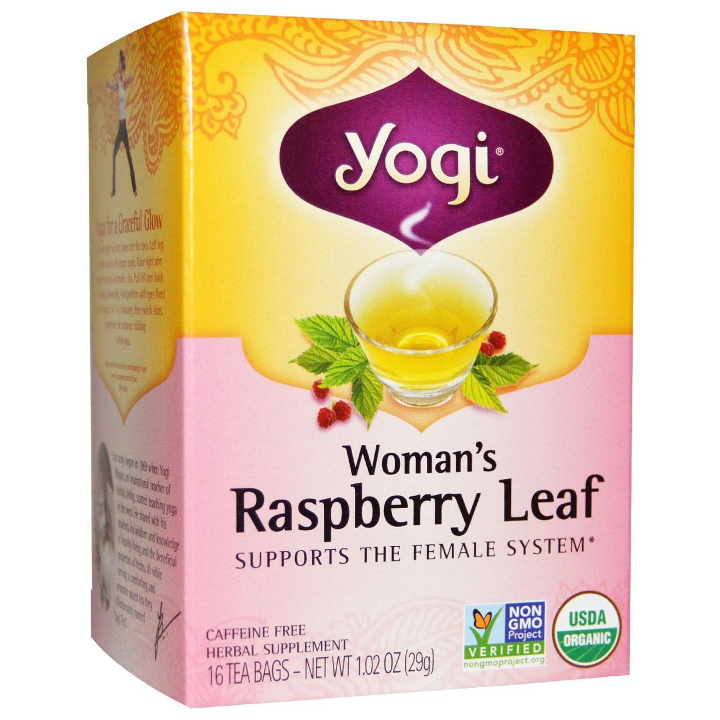 Where sells raspberry leaf tea