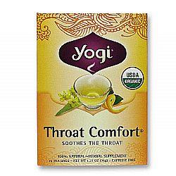 Yogi Tea Organic Teas Throat Comfort Organic Tea