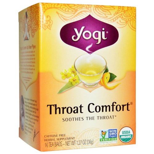 Yogi Tea Organic Teas Blend  - Throat Comfort - 16 Bags - 7992_01.jpg