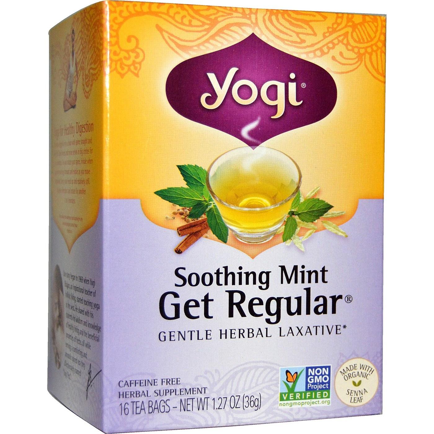 Yogi tea get regular