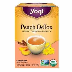 Yogi Tea Organic Teas Peach Detox Tea