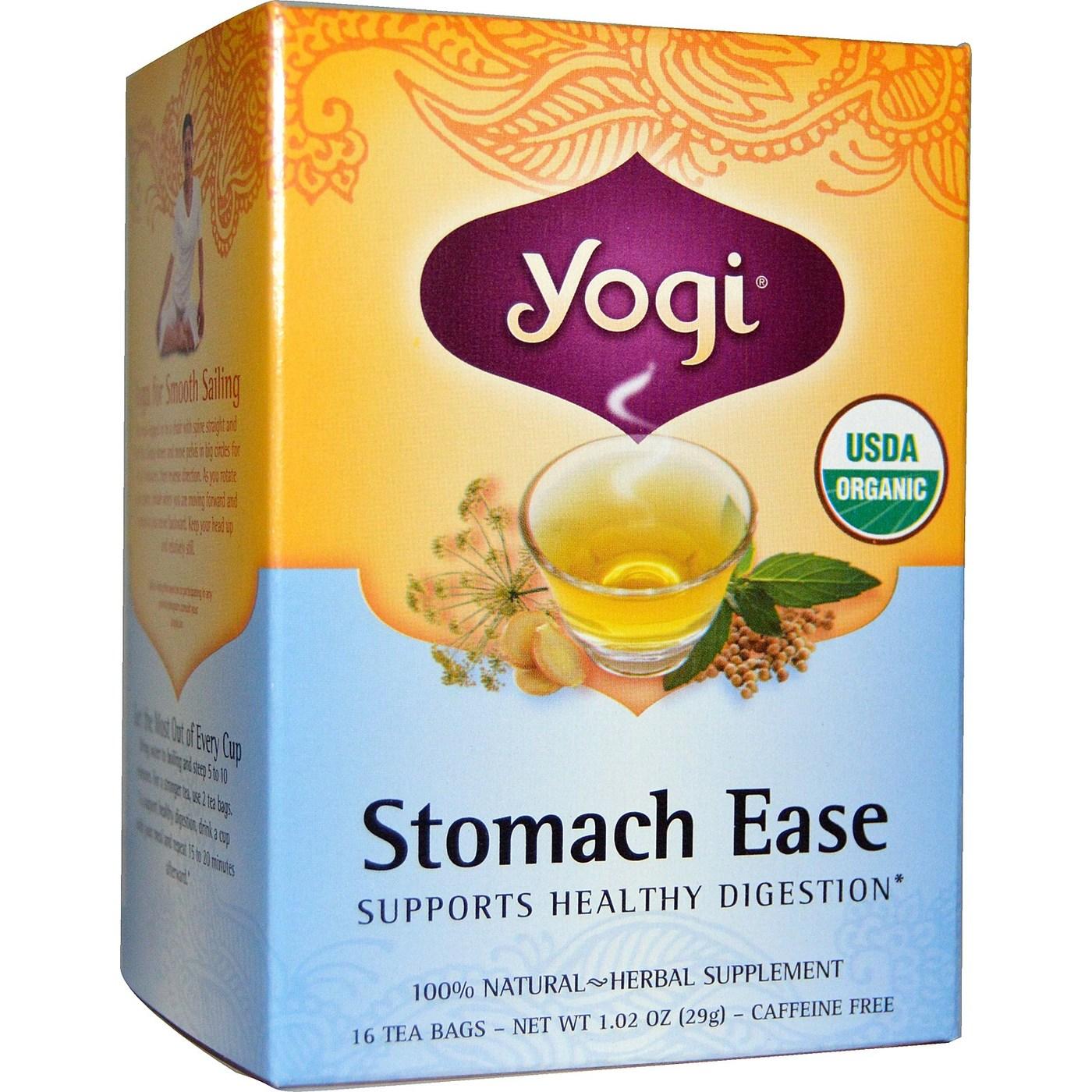 Yogi Tea Organic Teas Blend - Stomach