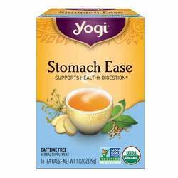 Yogi Tea Organic Teas Stomach Ease Caffeine Free Tea