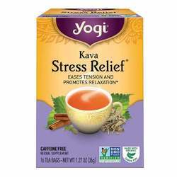 Yogi Tea Organic Teas Kava Stress Relief