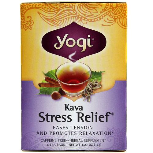 Kava Stress Relief Organic Tea