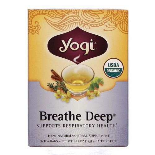 Breathe Deep Organic Tea