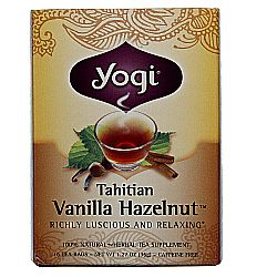 Yogi Tea Organic Teas Tahitian Vanilla Hazelnut