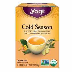 Yogi Tea Organic Teas Cold Season Caffeine Free Tea