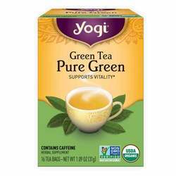 Yogi Tea Organic Teas Green Tea Pure Green