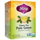 Yogi Tea Organic Teas Green Tea - Pure Green - 16 Bags