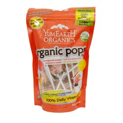 Yummy Earth Organic Pops Lollipops