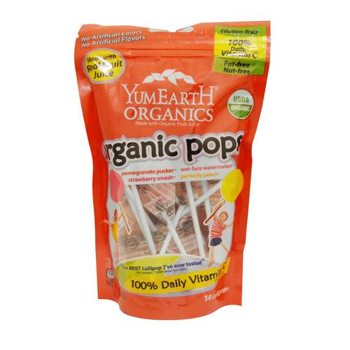 Organic Pops Lollipops