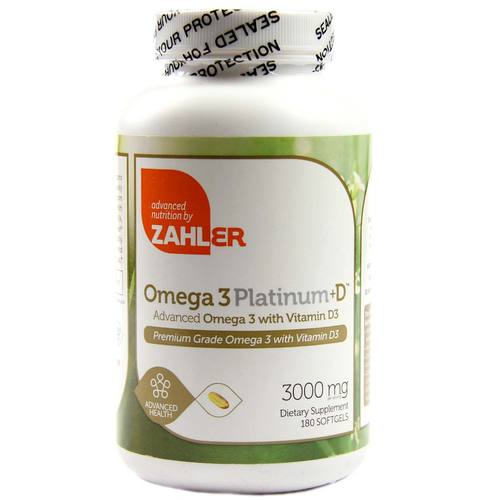 Omega 3 Platinum Plus D