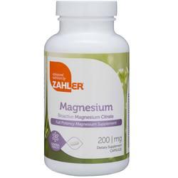 Zahlers Magnesium - 200 mg - 60 Capsules