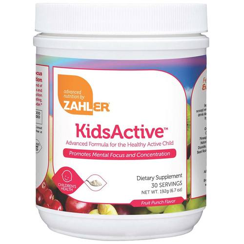 Zahlers KidsActive, Fruit Punch - 6.7 oz Powder - 117308_1.jpg
