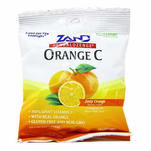 Zand HerbaLozenge Orange C - 15 Lozenges - 32915_front2020.jpg