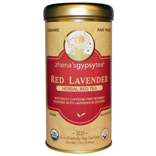Red Lavender Herbal Red Tea