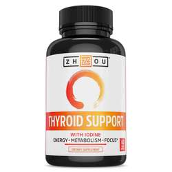 Zhou Thyroid Support with Iodine