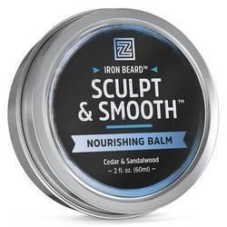 Zhou Iron Beard Sculpt and Smooth Nourishing Balm - Cedar and Sandalwood