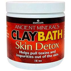 Zion Health Ancient Minerals Clay Bath Skin Detox