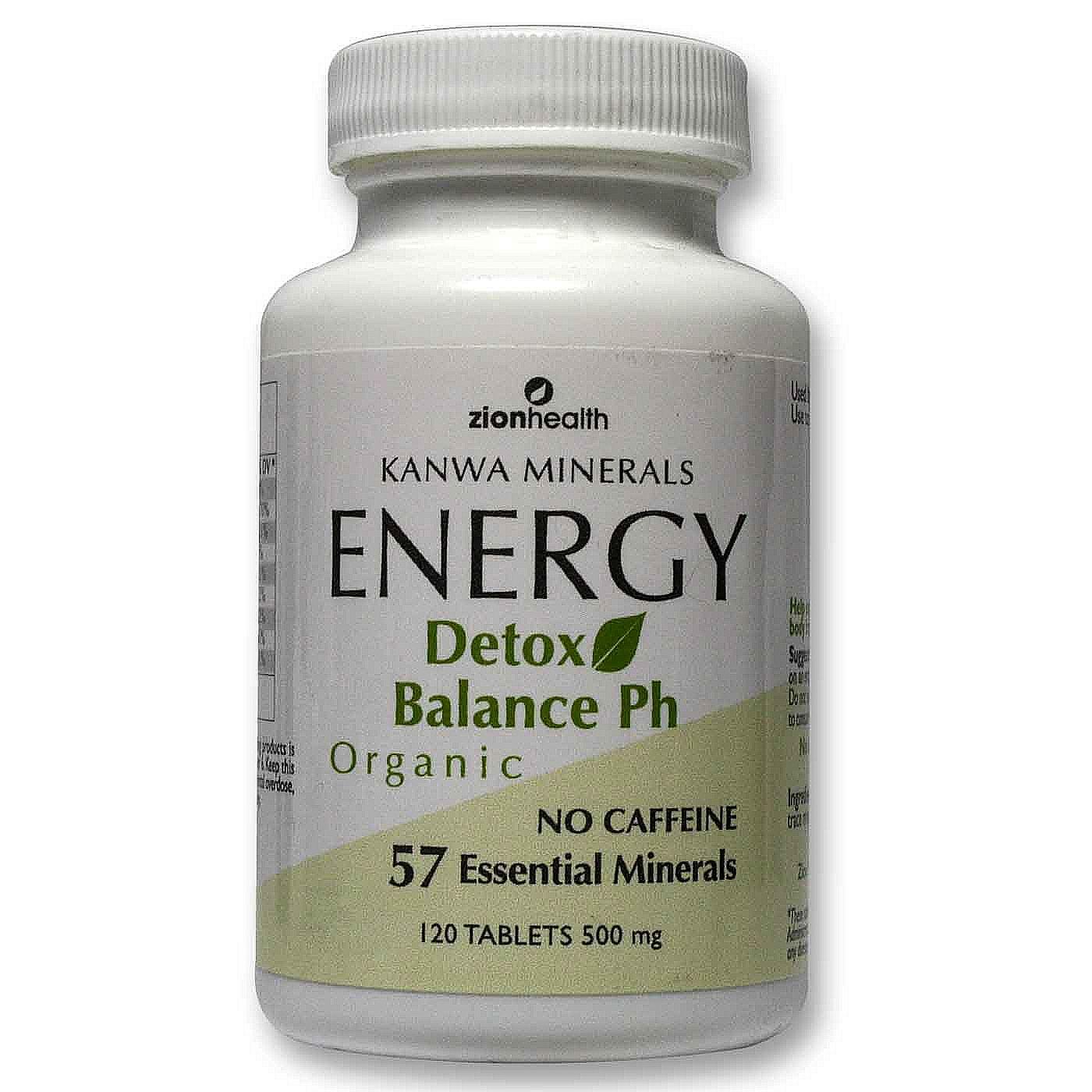Zion Health Energy Detox 120 Tablets Evitamins Com