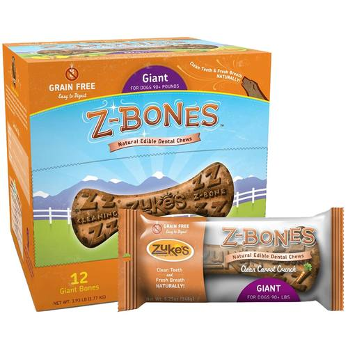 Z-Bones Natural Edible Dental Chews