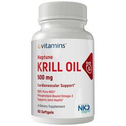 eVitamins Neptune Krill Oil