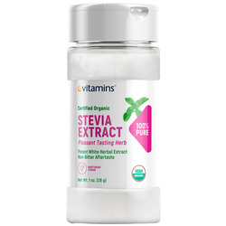 eVitamins Certified Organic Stevia Extract