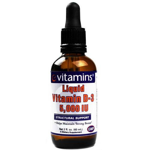 Liquid Vitamin D-3 5000 IU