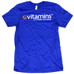 eVitamins Logo T-Shirt