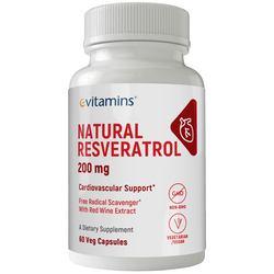 eVitamins Natural Resveratrol
