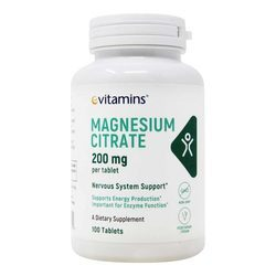 eVitamins Magnesium Citrate 200 mg