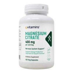 eVitamins Magnesium Citrate 400 mg